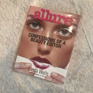 Allure Confession of a beauty editor  hard book